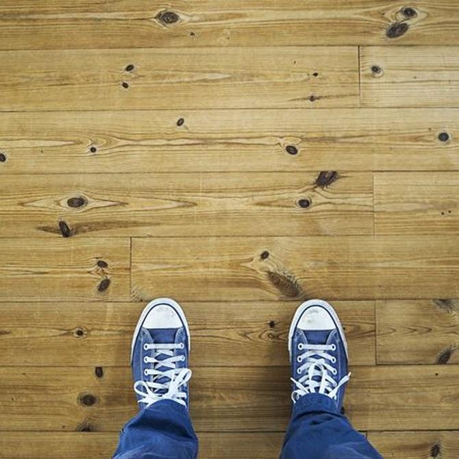 Diferentes suelos de madera