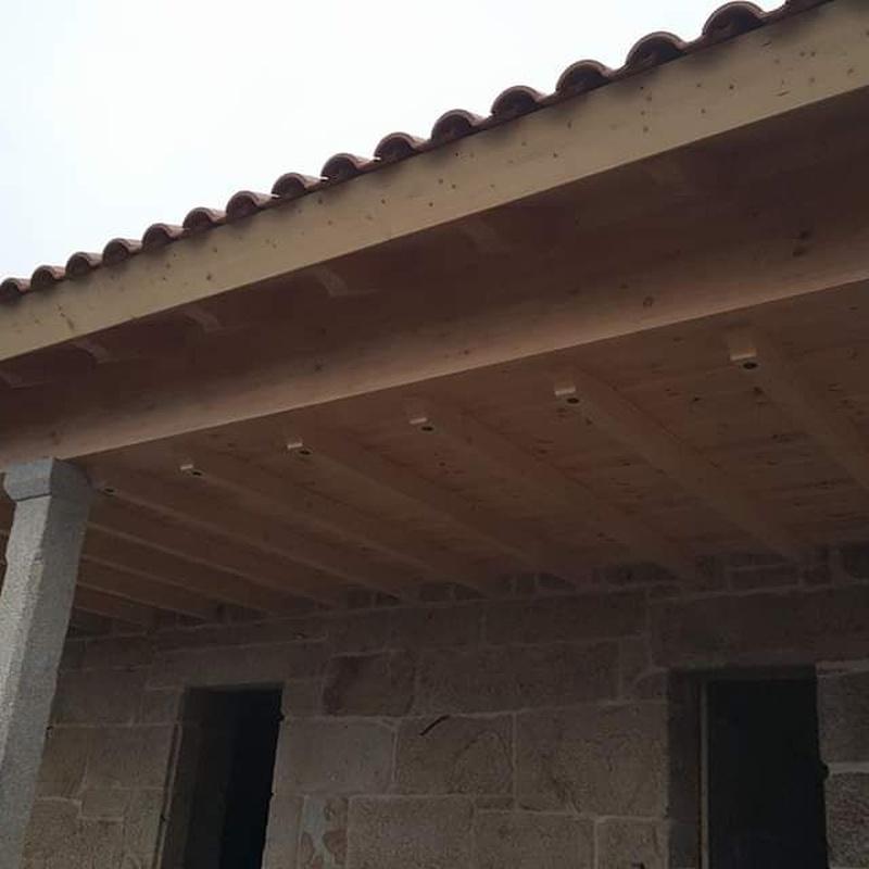 Tejados y techos: Productos y Servicios  de Carpintería Florencio Veiga