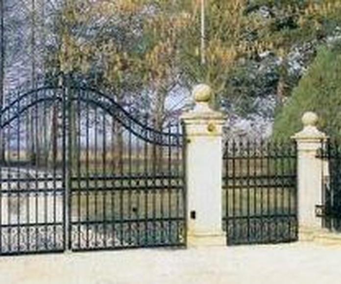 Puertas acero inoxidable
