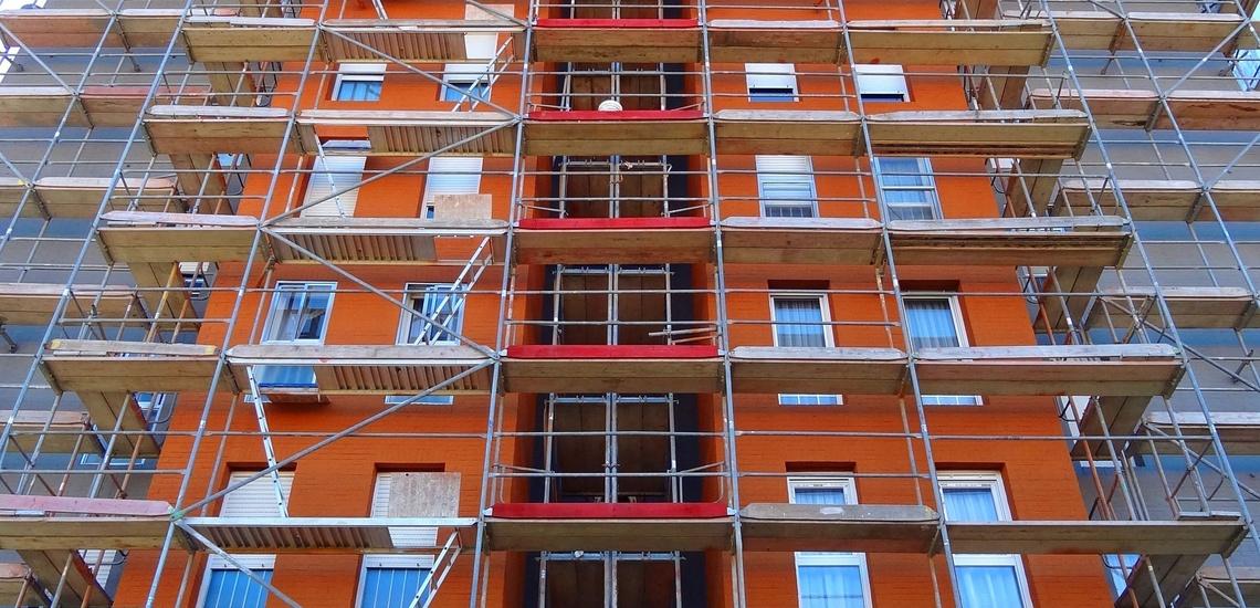 Rehabilitaciones de fachadas en Santander