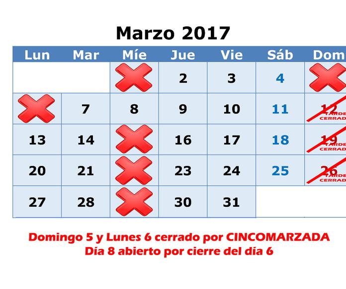 MARZO 2017
