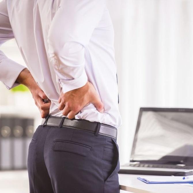 Una hernia discal sin tratar puede limitarte en tu trabajo