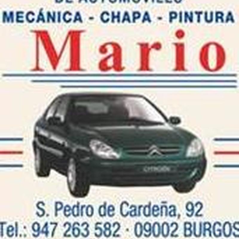 Taller coches de sustitución Burgos: Taller de coches Burgos de Talleres Mario