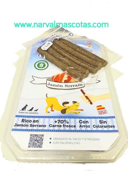 Ibéricas Sticks Jamón Serrano (Mediterranean Natural): Productos y Servicios de Narval Mascotas