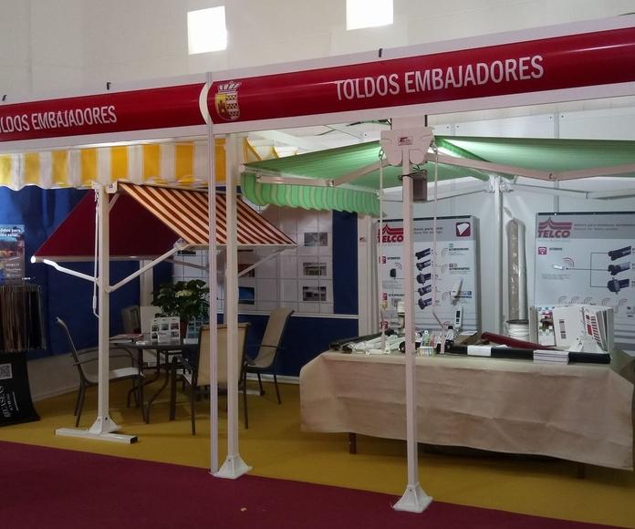 Toldos Embajadores en la Feria Ganadera y Agroturística de Herrera del Duque