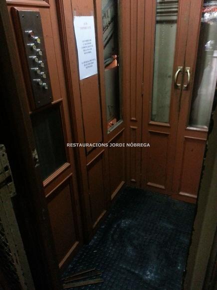 Restauración-transformación de cabina de ascensor en Barcelona: Nuestros trabajos de Jordi Nóbrega Restauracions
