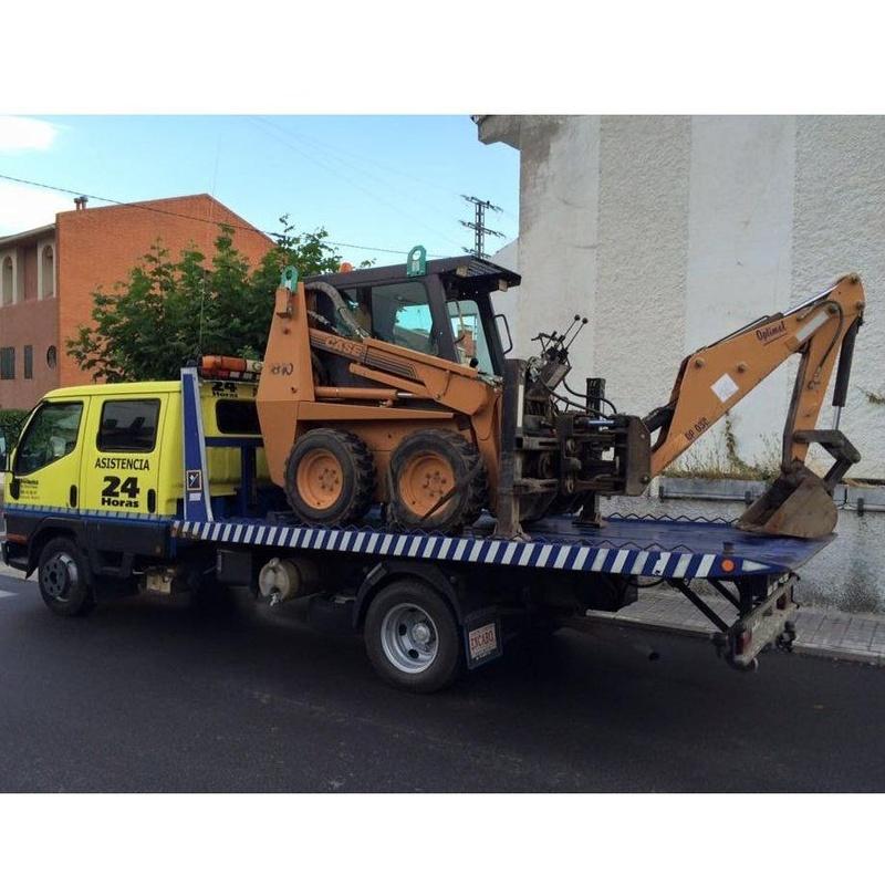 Transportes: Servicios de Grúas Somosierra