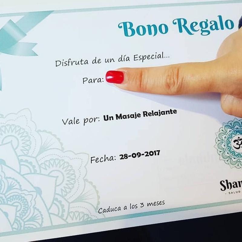 Bono Regalo: Servicios de Shambhala Salud y Bienestar
