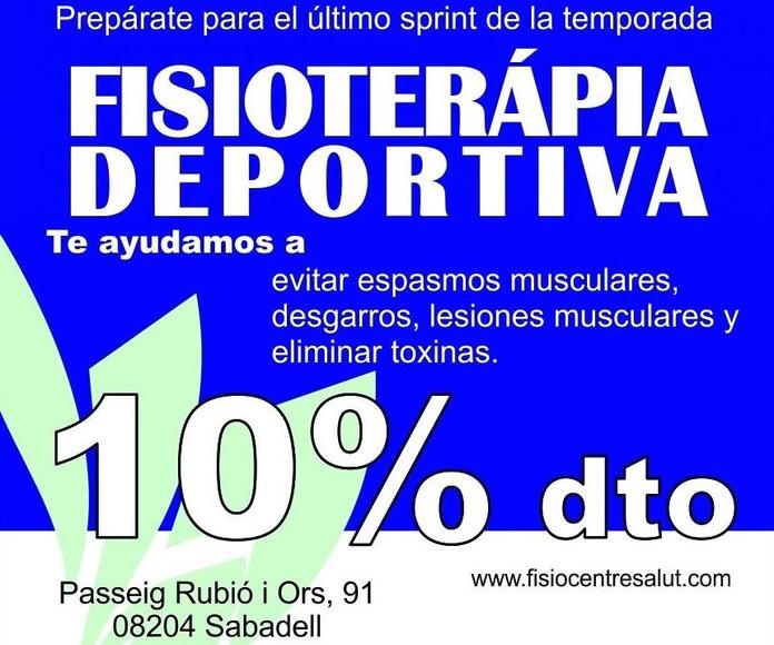Oferta Fisioterapia deportiva