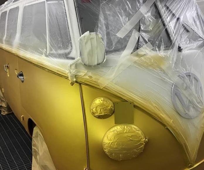 Trabajo precioso de esta T1 que nos llega desde nuestro cliente en GC,dorado solar Candy full dip. Serivinyl Tenerife Piletas distribuciones en gc