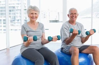La fisioterapia previene los efectos del envejecimiento activo