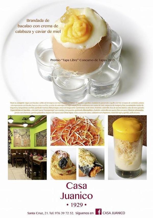 Especialidades: Catálogo de Casa Juanico Bar - Restaurante