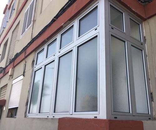 Cerramiento de terrazas con aluminio en Gran Canaria