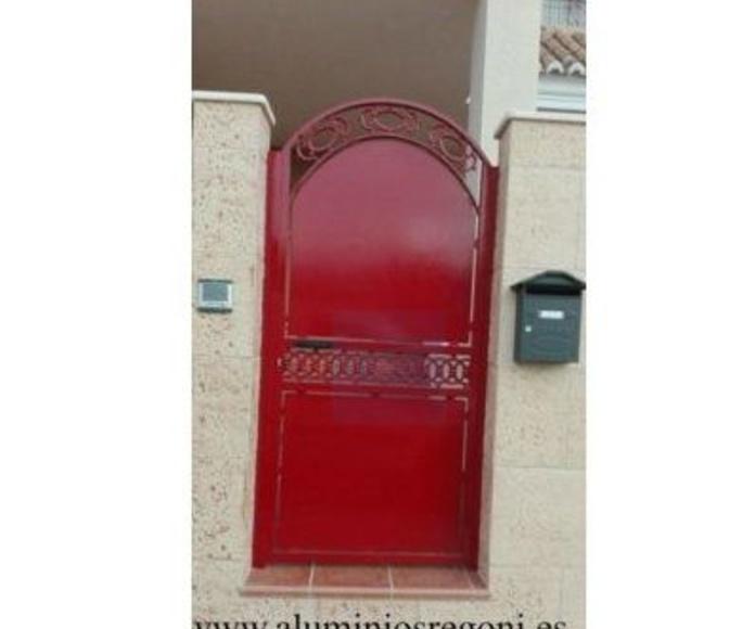 Puertas de hierro : Nuestros productos  de Aluminios Regoni