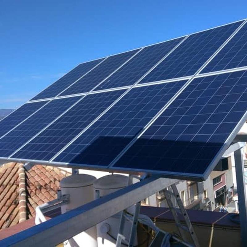 Materiales: Servicios de Fimara Solar