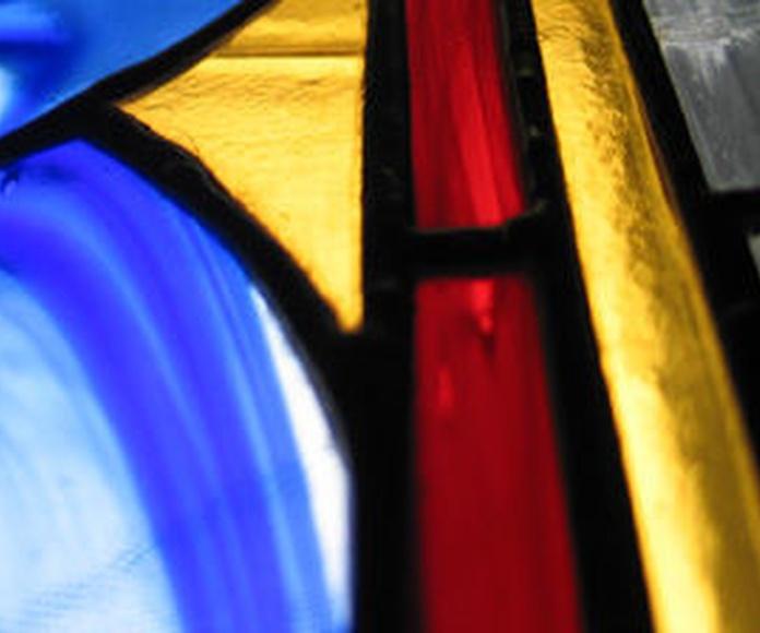 vidriera artística