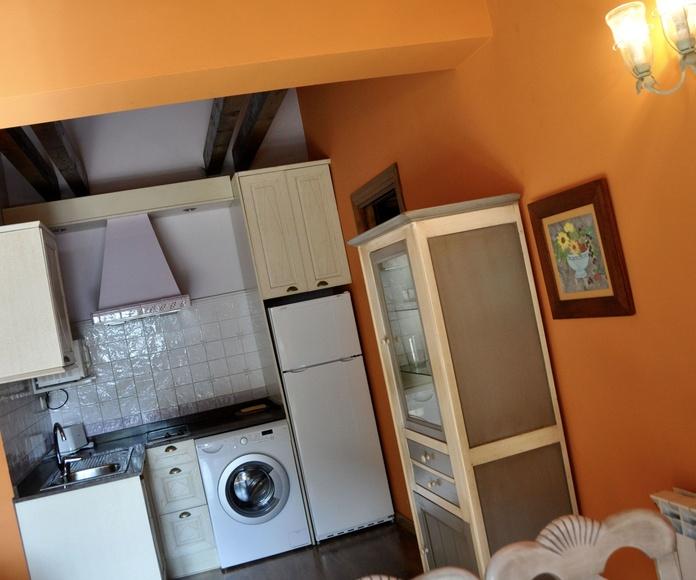 Cocina apartamento Torla.