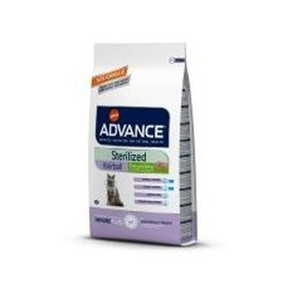 Advance feline sterilised hairball 1,5 Kg Pienso Express comprar en Madrid alimentación macot