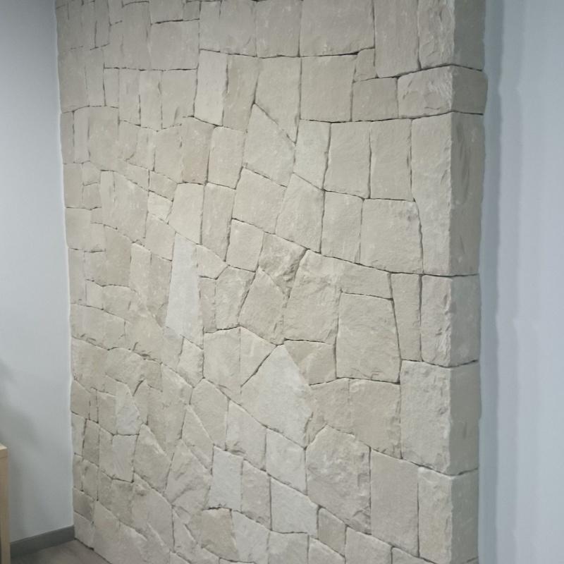 Mampostería concertada en seco (hueso) en piedra blanca de Almorqui: Trabajos de La Almaina
