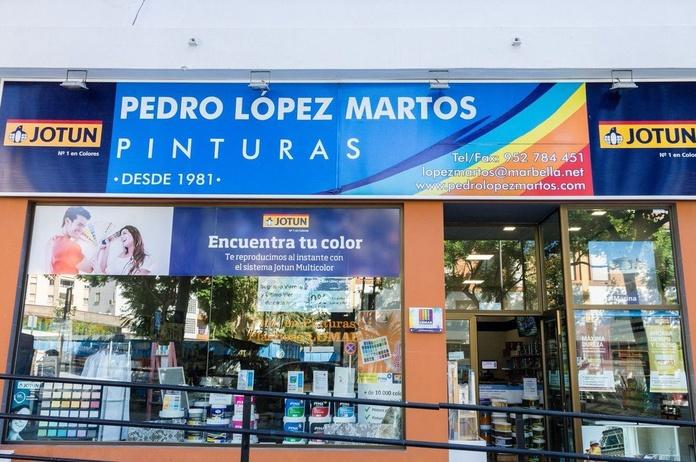 Pinturas para suelos y Parkings. Pinturas Pedro López Martos en Marbella