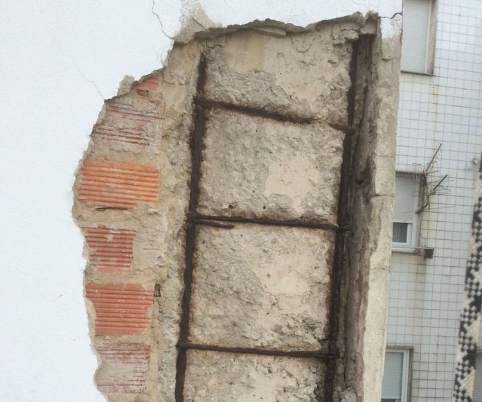 Patologìas producidas por la humedad de la fachada.