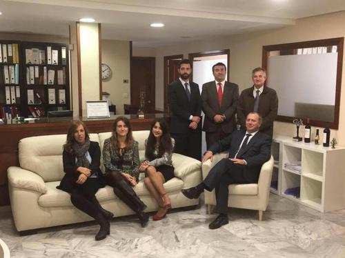 El equipo del despacho de Cadiz de Legalsegur Martos Abogados