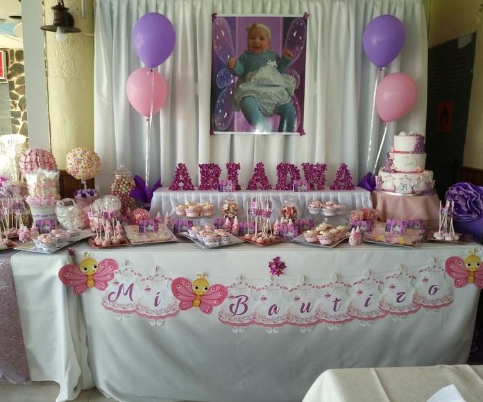 mesa dulce bautizo niña 1