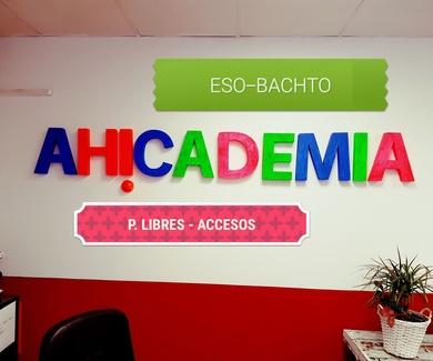 AH!CADEMIA. Centro de estudios en Zaragoza