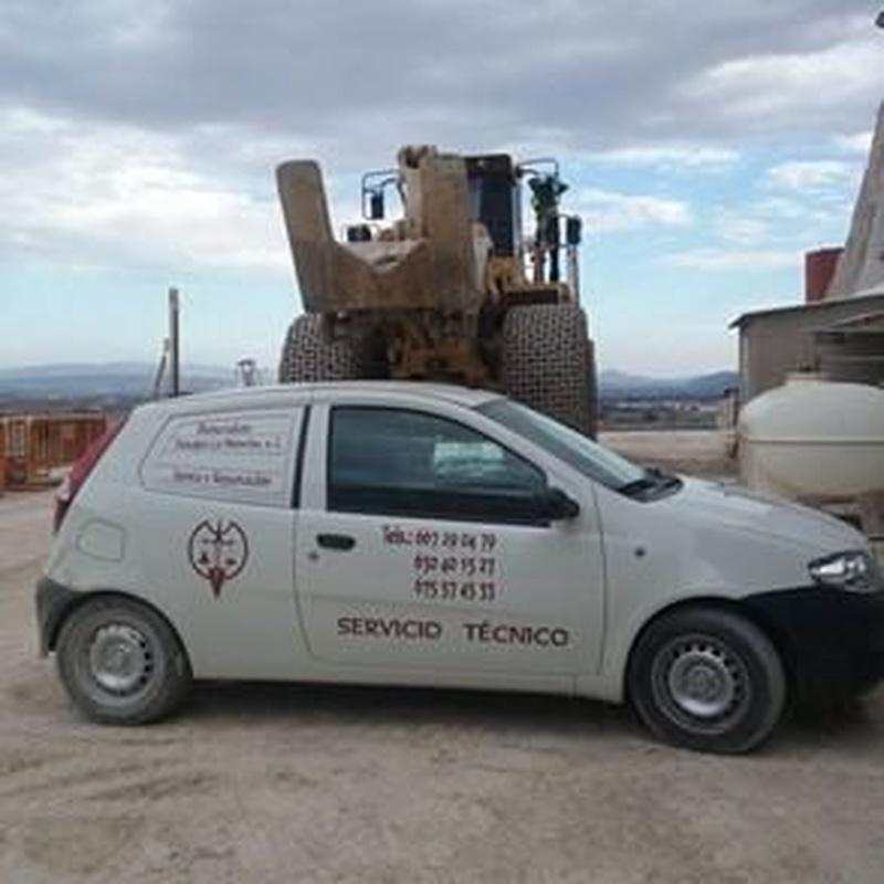 Palas cargadoras: Servicios de Pesajes La Mancha | Básculas Industriales