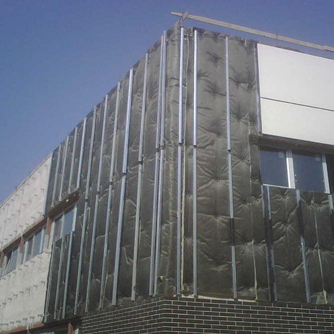 La fachada ventilada