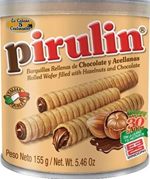 PIRULIN CHOCOLATE: PRODUCTOS de La Cabaña 5 continentes