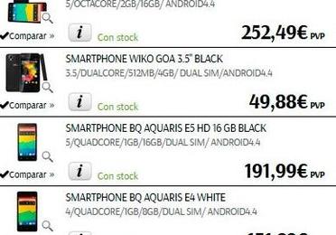 Smartphone y accesorios