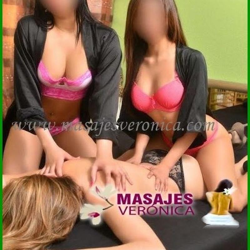 Masajes a cuatro manos en Madrid