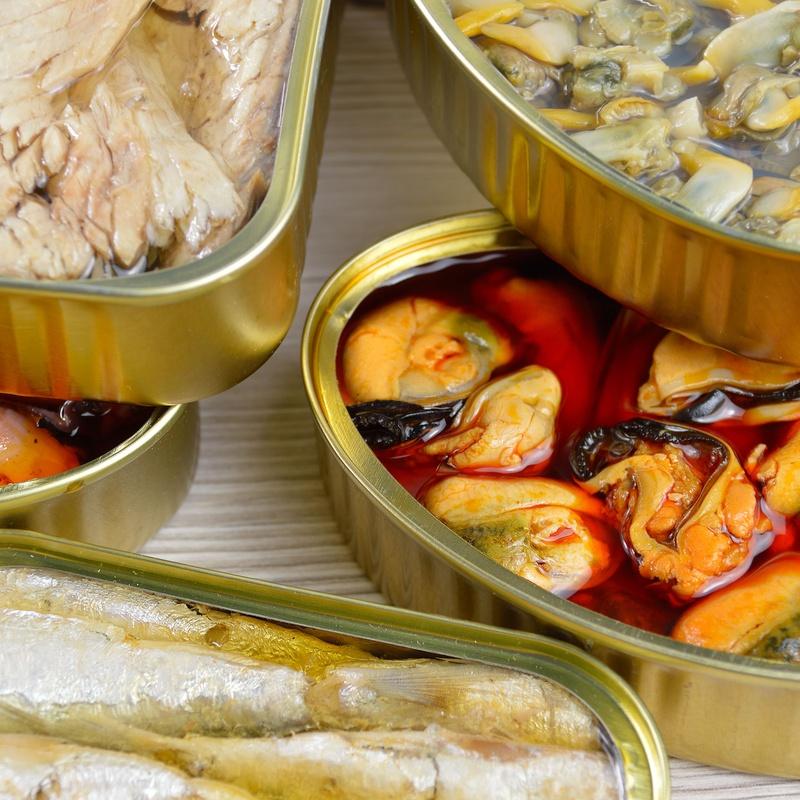 Conservas de pescados gourmet: Productos de Galacanaria