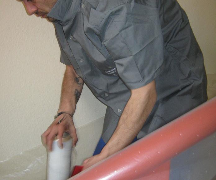 Últimos trabajos realizados en una comunidad de vecinos: Servicios de Limpiezas Lema Javier Manzano GetafeS.L