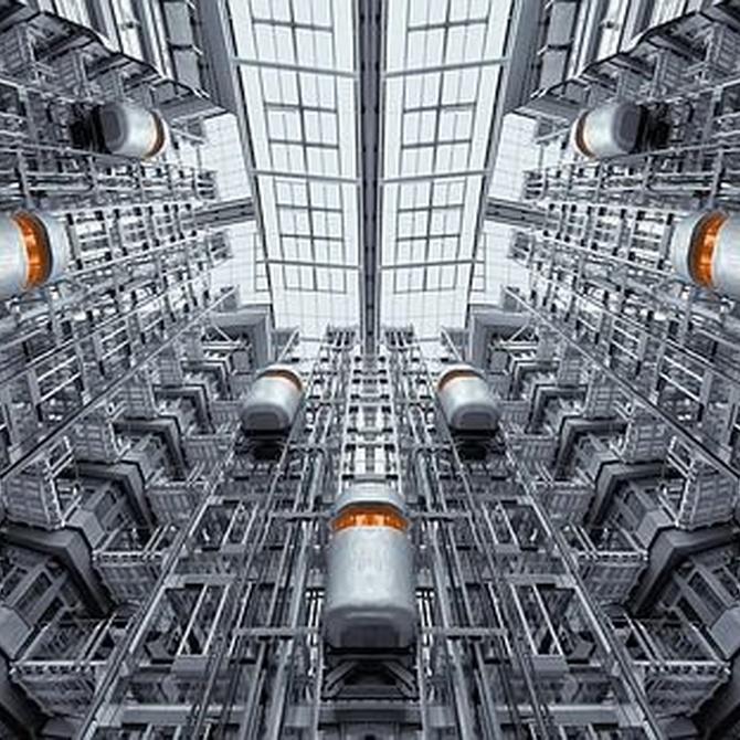 La comodidad de un ascensor en edificios con escaleras