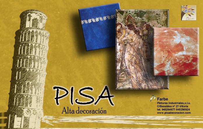 Pisa linea de Alta Decoración de Farbe