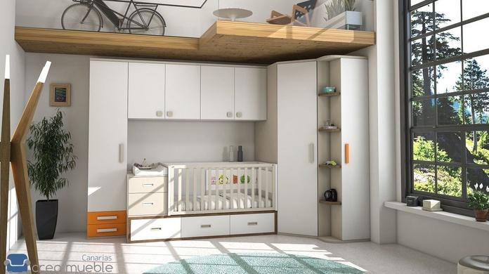 DORMITORIO INFANTIL IH152: Productos de Crea Mueble