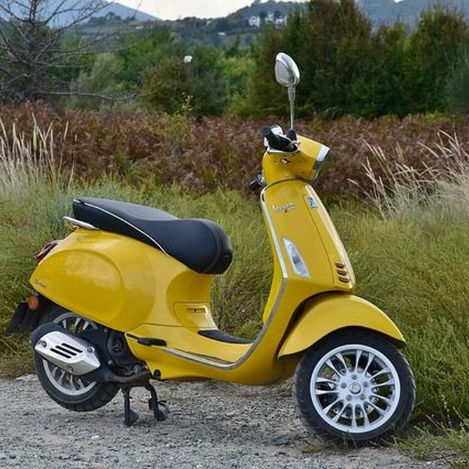 El origen de las scooter