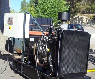 Grupos electrógenos diesel : Grupos electrógenos  de Energía y Componentes