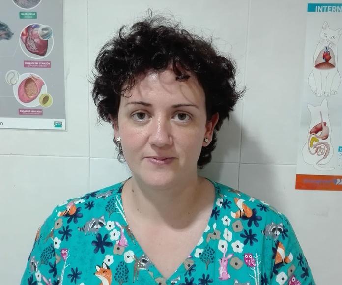 Almudena Rodríguez. Veterinaria licenciada por la UCM en 2003.