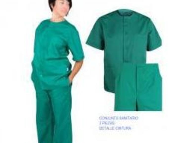Sanidad: Catálogo Uniformes de Uniformes y Mantelería Linotex
