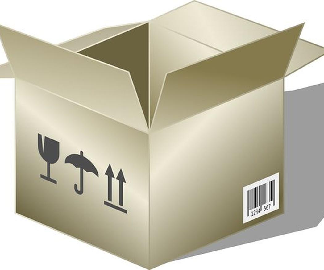 Los orígenes de la caja de cartón