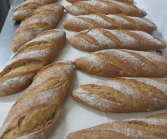 Preparo tu pan y tú lo terminas: Productos de Panadería Camelia