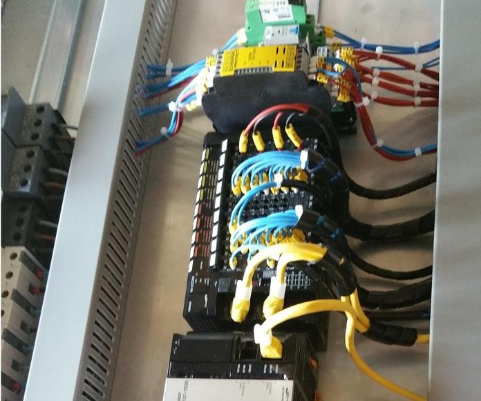 Instalaciones de cableado: Servicios de FJM