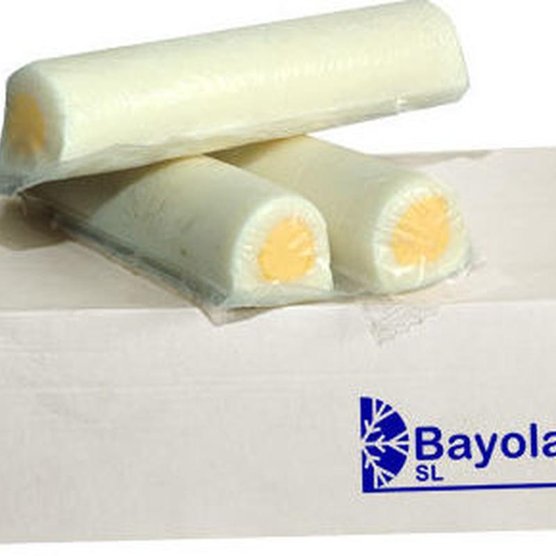 Bayolac. huevo duro en barra para hosteleria.