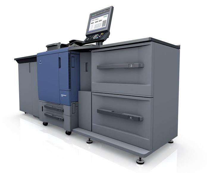 Impresión con máquina Konica Minolta