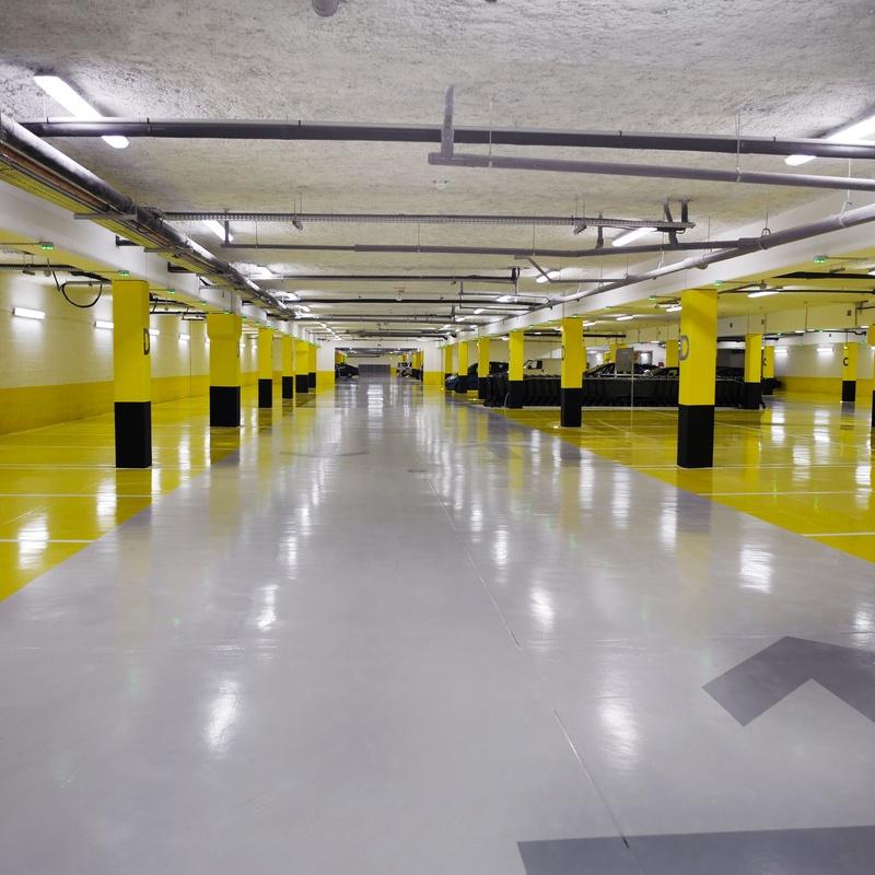 Limpiezas de parkings: Servicios de Servineteja