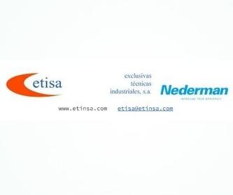 Enrolladores Nederman: Productos de E.T.I.S.A. Exclusivas Técnicas Industriales, S.A.