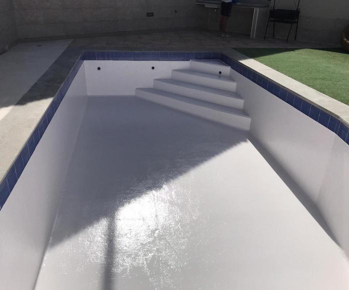 Impermeabilización de piscina Las Palmas de Gran Canarias